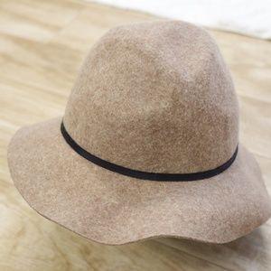 Forever 21 Tan/Brown Floppy Wool Hat- S/M 56.5cm